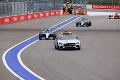 Nico Rosberg av Mercedes AMG Petronas Formel en Sochi Ryssland Fotografering för Bildbyråer
