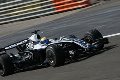 Nico Rosberg on F1 Royalty Free Stock Photography