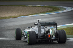 Nico Rosberg Royalty Free Stock Photo
