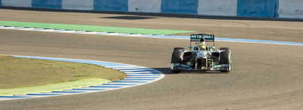 Nico Rosberg Royalty Free Stock Photos