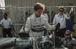 2014 NICO ROSBERG Royalty Free Stock Images