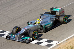 Nico Rosberg (Mercedes) Royalty Free Stock Photography