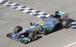 Nico Rosberg of Mercedes F1 Stock Photos