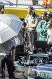 Nico Rosberg op het net Stock Fotografie