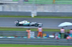 Nico Rosberg, squadra Mercedes Immagini Stock