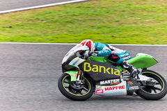Nico Terol πειραματικό 125cc του MotoGP Στοκ Εικόνα