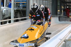 Nico Walther - bobsleigh Stock Images