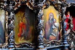 Nicoale Grigorescu Μέσα στο μοναστήρι Zamfira Στοκ Εικόνες