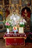 Nicoale Grigorescu Μέσα στο μοναστήρι Zamfira Στοκ εικόνα με δικαίωμα ελεύθερης χρήσης
