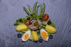 Nicoise de salade photo libre de droits