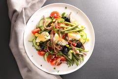 Nicoise de salade image libre de droits