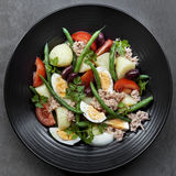 Nicoise dell'insalata Immagine Stock