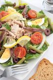 Nicoise salad Stock Photos