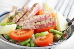 Nicoise Salat Lizenzfreies Stockfoto