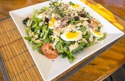 Nicoise-Salat Lizenzfreie Stockbilder