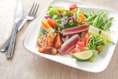 Nicoise-Salat Stockbild