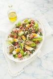 Nicoise Salat Lizenzfreie Stockbilder