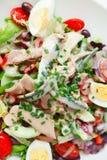 Nicoise Salat Stockfotografie