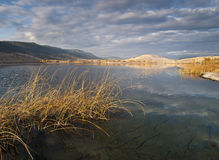 Nicola Lake Lizenzfreie Stockbilder
