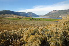 Nicola Lake and Valley, British Columbia Royalty Free Stock Image