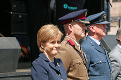 Nicola Sturgeon Immagine Stock
