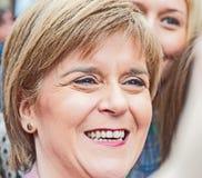 Nicola Sturgeon, premier ministre d'écossais Photographie stock libre de droits