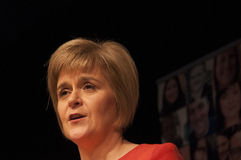 Nicola Sturgeon Royalty Free Stock Photography