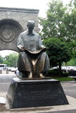 Nicola Tesla Monument Stock Photo