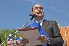 Nicola Zingaretti, Präsident der Provinz Lizenzfreies Stockfoto