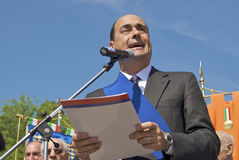 Nicola Zingaretti, president of the province Royalty Free Stock Photo