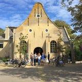 Nicolaas Church en Vlieland foto de archivo libre de regalías