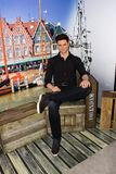 Nicolaas Maria 'Nick 'Schilder, Amsterdam för madam Tussauds royaltyfri fotografi