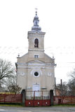 Nicolae balcescu village church Stock Photography