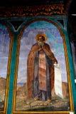 Nicolae Grigorescu Εικονίδιο στο ορθόδοξο μοναστήρι Zamfira, Ρουμανία Στοκ φωτογραφία με δικαίωμα ελεύθερης χρήσης
