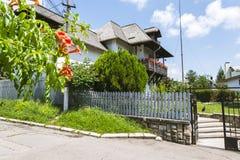 Nicolae Grigorescu Memorial Museum in Campina, Romania immagini stock libere da diritti