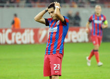 Nicolae Stanciu disapointment reaction during Champions League game Stock Image