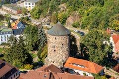 Nicolaiturm,包岑 库存图片
