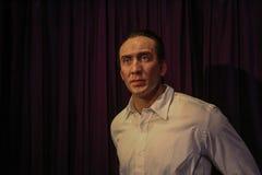Nicolas Cage στην κυρία Tussauds Στοκ εικόνα με δικαίωμα ελεύθερης χρήσης