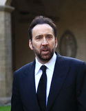 Nicolas Cage. Actor, in visit at Florence for event Royalty Free Stock Image