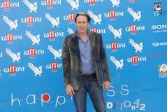 Nicolas Cage al Giffoni Film Festival 2012. Giffoni Valle Piana, Salerno, Italia - 18 Luglio, 2012 : Nicolas Cage al Giffoni Film Festival 2012 - il 18 Luglio Royalty Free Stock Images