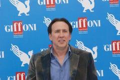 Nicolas Cage al Giffoni Film Festival 2012. Giffoni Valle Piana, Salerno, Italia - 18 Luglio, 2012 : Nicolas Cage al Giffoni Film Festival 2012 - il 18 Luglio Stock Photography