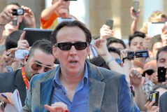 Nicolas Cage al Giffoni Film Festival 2012 Stock Photos