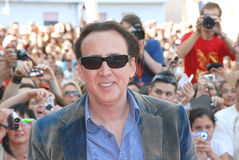 Nicolas Cage al Giffoni Film Festival 2012 Royalty Free Stock Photos
