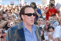 Nicolas Cage al Giffoni Film Festival 2012 Stock Images