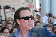 Nicolas Cage al Giffoni Film Festival 2012 Royalty Free Stock Photo