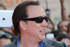 Nicolas Cage al Giffoni Film Festival 2012 Royalty Free Stock Photography
