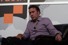 Nicolas Cage bij SXSW 2014 Stock Foto's