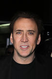 Nicolas Cage. At the 'Drive Angry' Los Angeles Red Carpet Screening, Arclight Theater, Hollywood, CA. 02-22-11 Royalty Free Stock Photo