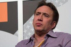 Nicolas Cage em SXSW 2014 fotografia de stock royalty free