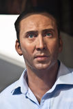 Nicolas Cage - estátua da cera Fotografia de Stock Royalty Free